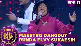 Bunda Elvy Sukaesih di Kelilingi Cowo Cowo Tampan [KERETA MALAM] -    KONTES KDI 2020