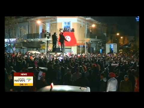 Beji Caid Essebsi claims victory