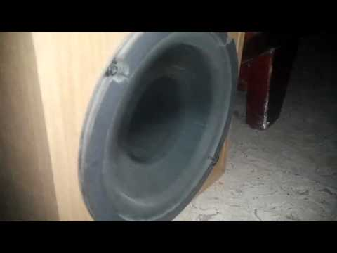 Gorilla Zoe  Money man Bass test  Kenwood Subwoofer SW 305
