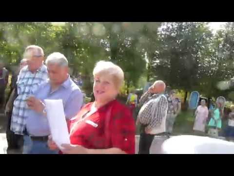 Митинг в Суворове против пенсионной реформы. 22.09.18. Начало
