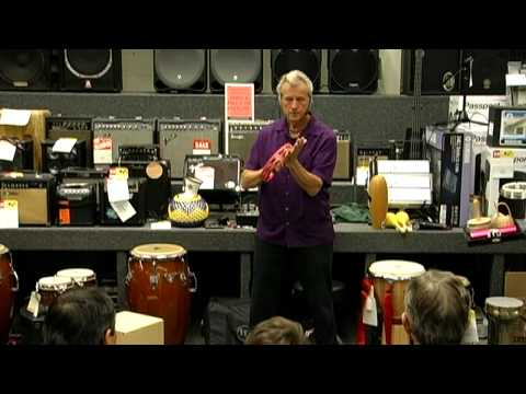 Jim Greiner Tambourine Demo From His Percussion Clinic for LP