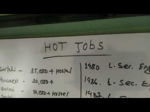Urgently Wanted, Hot Jobs Today