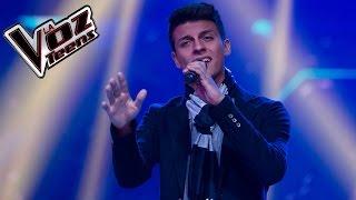 Santiago canta 'Ya me enteré' | Audiciones a ciegas | La Voz Teens Colombia 2016
