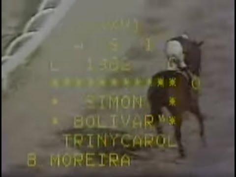 TRINYCAROL con Balsamino Moreira Clasico Simon Bolivar 1982...!!!