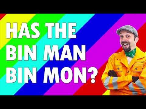 The Lancashire Hotpots - Has The Bin Man Bin Mon?  Lyric Video