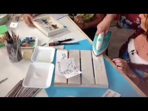 Como sublimar sobre madera  Beatriz Lecumberri  YouTube