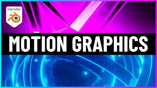 The BEST Way to Learn Motion Graphics for Blender!