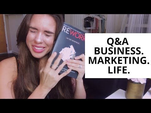 Questions And Answers About Marketing, Business & Life PART I // Kimberly Ann Jimenez