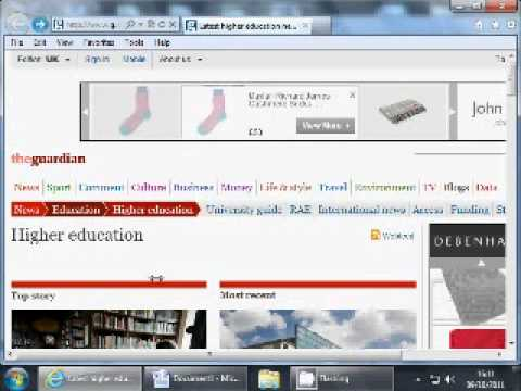 Harvard Referencing Webpage Example 1