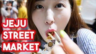 Street Food in Jeju Island OMG! [Jeju Island Vlog]