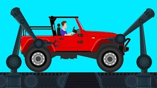 Garage | Jeep | Kinder Cartoon-Jeep