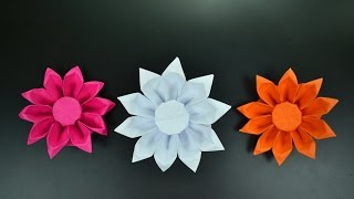 Origami: Gerbera Flower - Instructions in English (BR)