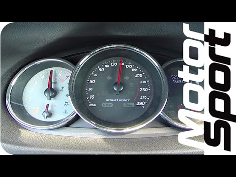 0-250 km/h : Renault Mégane R.S. 275 Trophy (Motorsport)