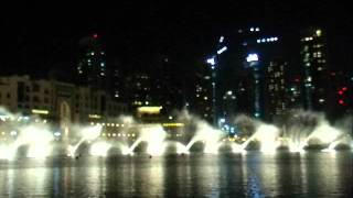 Dubai Dancing Fountain - Take me to your heart