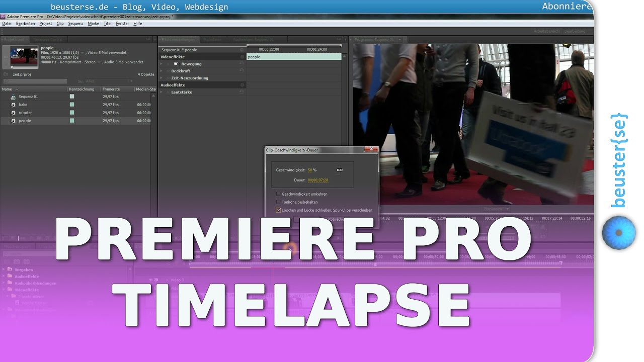 how to make a movie in premiere pro cs5