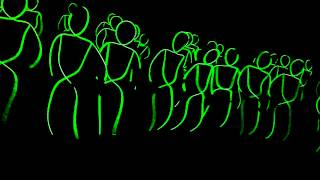Repeat youtube video Glow in the dark dance
