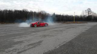 AUDI R8 RWD - first test