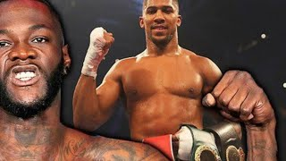 BREAKING NEWS: ANTHONY JOSHUA ADMITS HE WAS OFFERED 50 MILLION FROM DEONTAY WILDER & HIS TEAM !!
