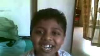 Smart kid speaks about one benefit of listening to Rag Chandrakauns {Indian classical music}!