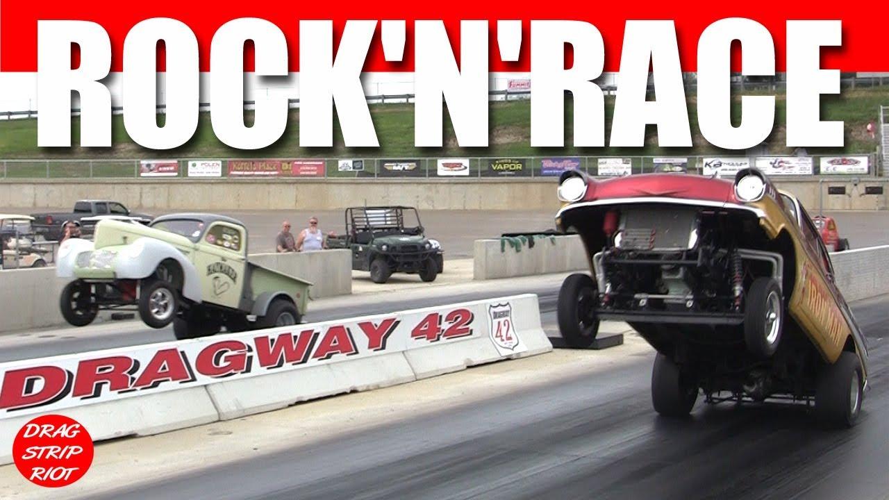 Gasser Drag Racing Rock N Race Dragway 42 Promo
