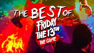 The BEST of Friday the 13th Game!  (Funny Moments with The Crew!)