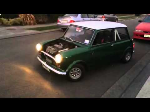 1962 Morris Mini With 7port X Flow Head And Twin Weber Dcoe40 Carbs