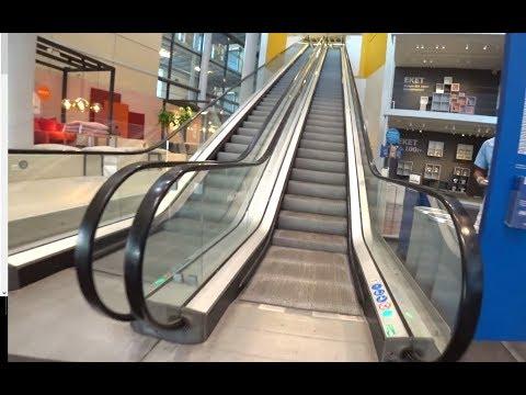 Sweden, Stockholm, Kungens Kurva, IKEA, 4X escalator , 4X elevator ride
