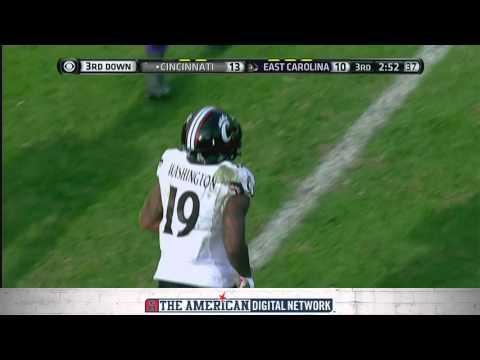 Football Highlights - Cincinnati 19, ECU 16
