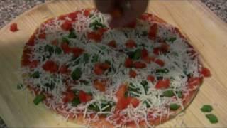 Tortilla Pizza Tutorial