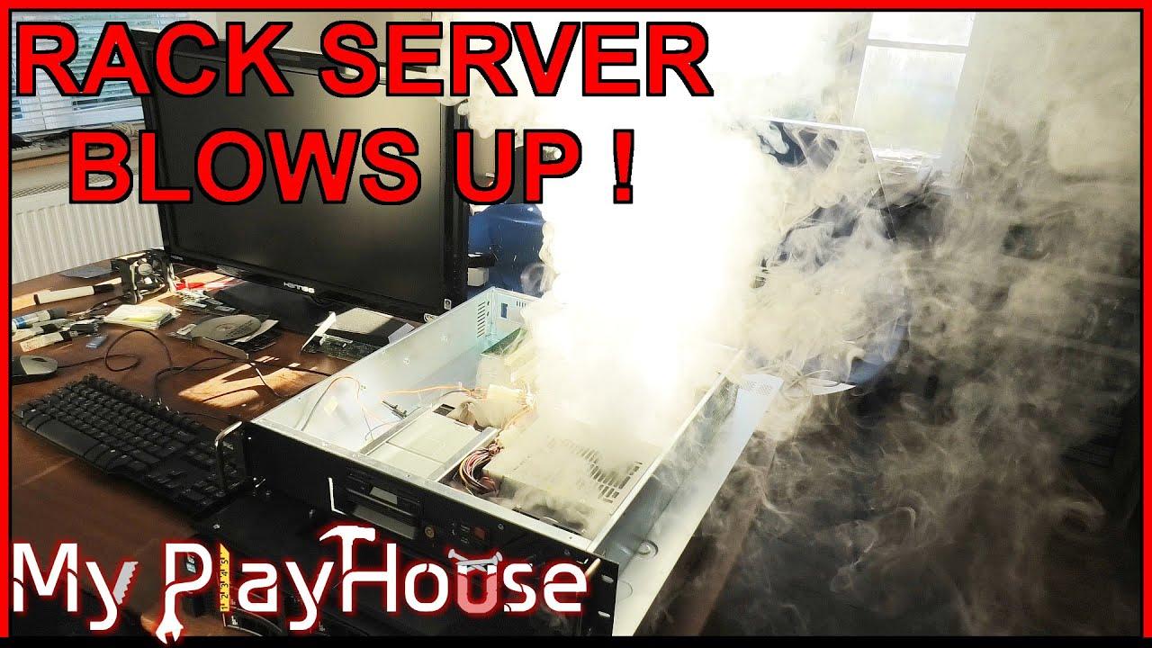 Rack Server BLOWS UP - Not a Good Fix - 997