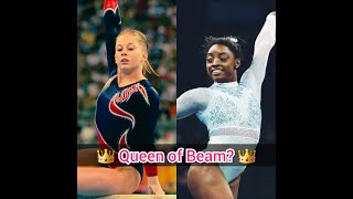 Simone Biles VS Shawn Johnson - Queen of Beam