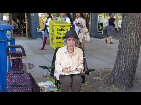 Broadway's own street artist
