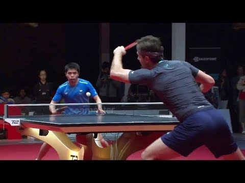 2017 T2 APAC (Grand Finals/D1) CHUANG Chih-Yuan Vs Timo BOLL [Full Match+Interviews/English|HD]