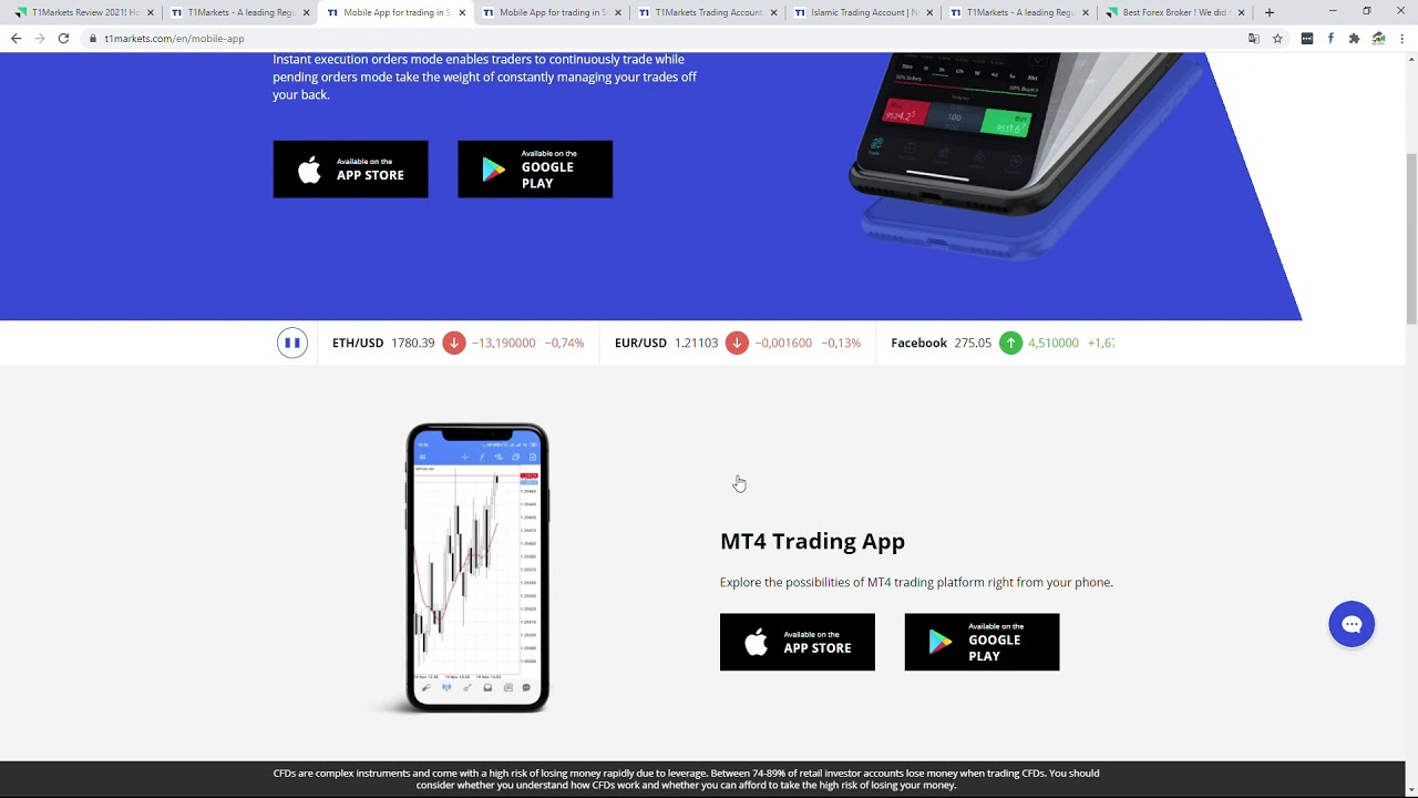 Download T1markets review