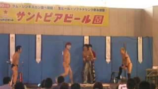 アントニオ小猪木・見た目が邦彦 VS KID・ラブセクシー乙羽屋.
