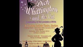Dick Whittington & His Cat Advert