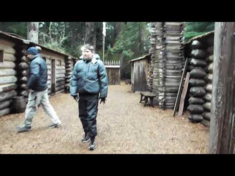 a look at lewis and clarks fort clatsop , oregon coast