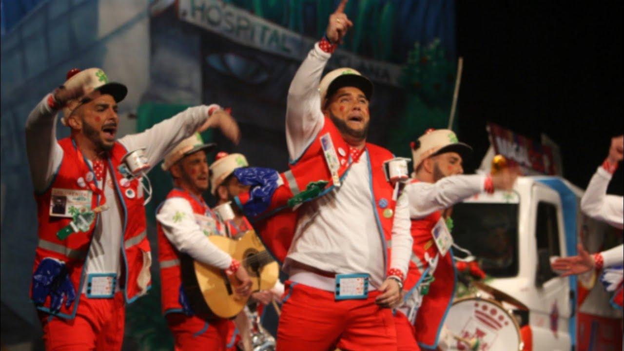 Carnaval De Cádiz 2018 Chirigota Los Sirenitas Pasodoble Ven La Manada Preliminares Youtube