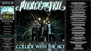Repeat youtube video Pierce The Veil - Collide With The Sky - Tangled In The Great Escape - Lyrics - Full Album
