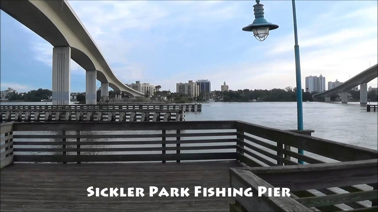 Sickler Park Seabreeze Bridge Fishing Pier Daytona Beach Florida