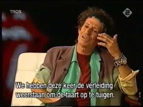 Keith Richards -  A Bigger Bang interview (Dutch TV, 2005)