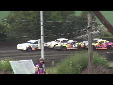 IMCA Stock Car Heat 2 Benton County Speedway 8/11/19