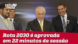 """Medida Provisória """"Rota 2030"""" é aprovada em 22 minutos de sessão no Senado"""