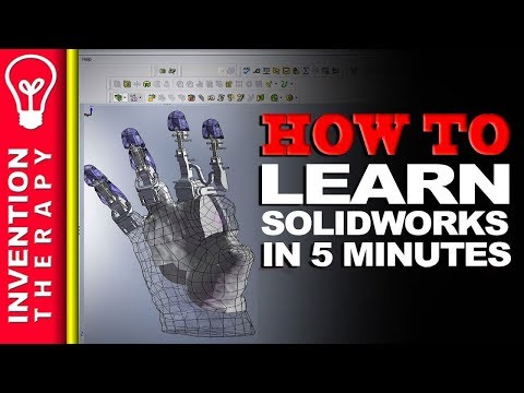 Learn Solidworks in 5 Minutes!   Solidworks Tutorial