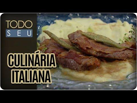 Saltimbocca De Filé Mignon | Chef Stefano Bruzzone - Todo Seu (11/01/17)
