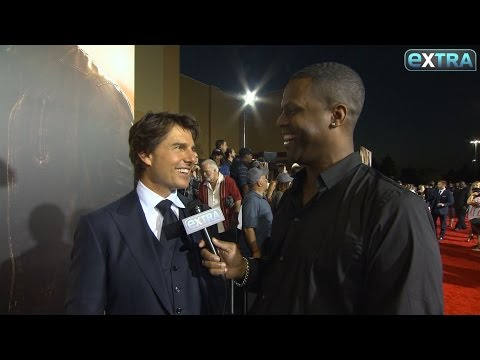 Tom Cruise Hints at His Big 'Mission: Impossible 6' Stunt at 'Jack Reacher: Never Go Back' Premiere