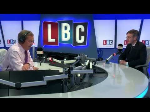 The Nigel Farage Show: Joined by Jacob Rees-Mogg. Live LBC - 19th July 2017