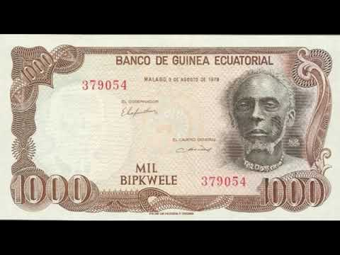 Paper money of Equatorial Guinea - franc Equatorial Guinea - banknote - banknotes
