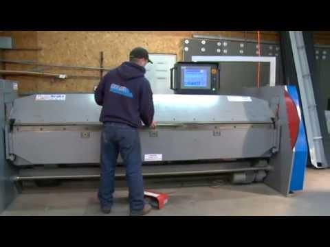 Cidan Machinery K25 30 Combi Forming An Eave Drip Doovi