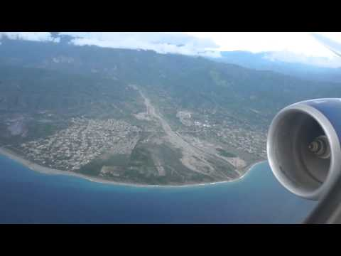 British Airways  flight 2263 - Scenic approach and landing into Kingston Jamaica